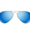 kính rayban 3025 tráng gương xanh