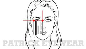 cách chọn size kính rayban