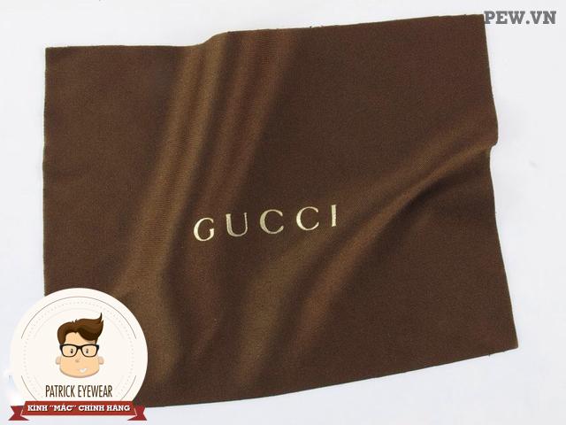 phân biệt kính Gucci thật giả
