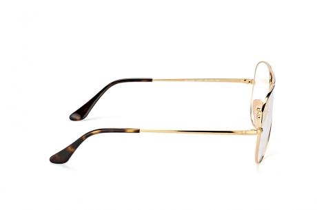Gọng kính Ray-Ban Aviator Rx6489-2501 vàng