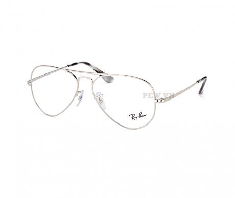 gọng kính rayban RX6489-2501 bạc