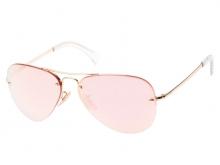 Kính mát Ray-Ban RB3441-001/E4 tráng gương hồng