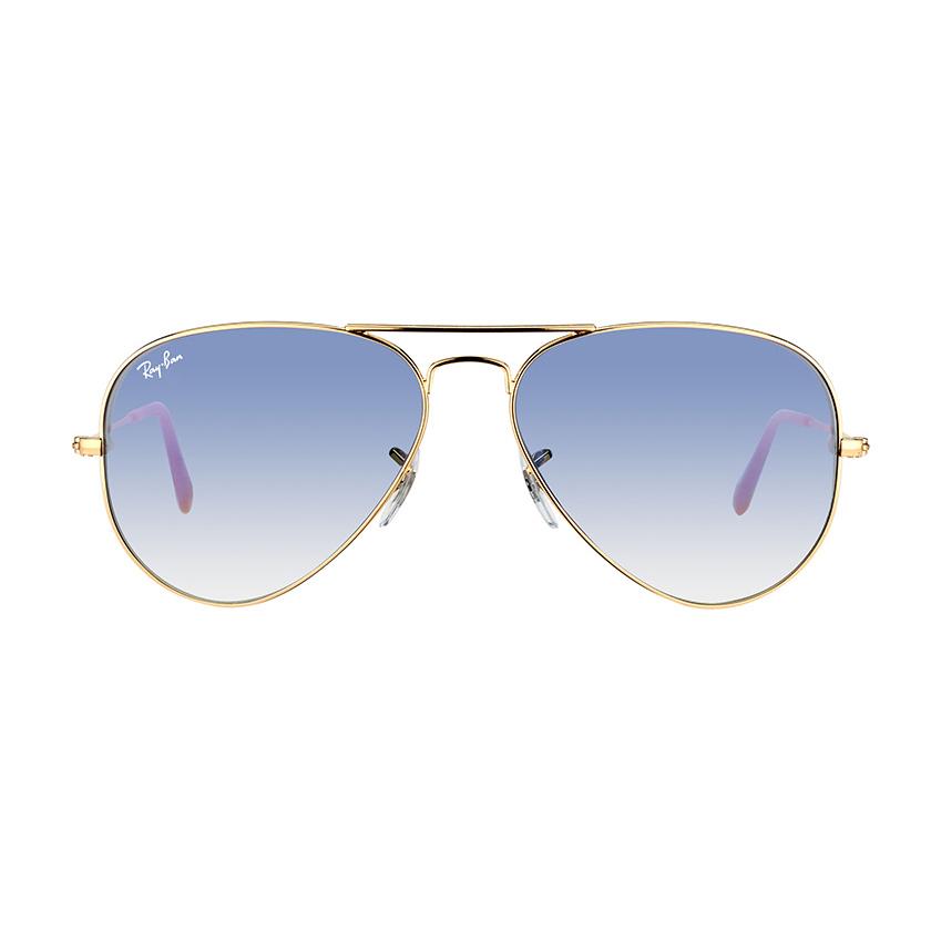 3d7e9ab650f499 Kính Ray-Ban Aviator RB3025-001/3F Gradient Blue - Patrick Eyewear