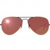 Mắt kính Ray-Ban Aviator RB3025 - 167/2K tráng gương đỏ rượu