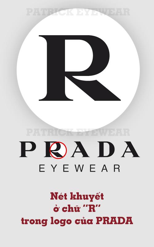 phân biệt kính Prada xịn và fake